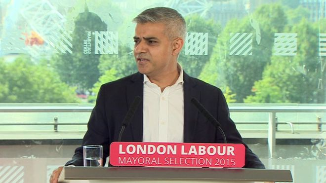 Sadiq Khan Labour's London Mayor Electoral Candidate |©BBC