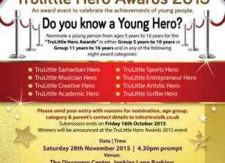 TruLittle Hero Awards 2015 Flyer