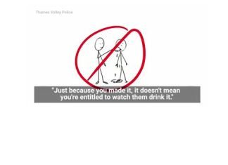 Thames Valley Police - Sexual Consent - Drinking Tea