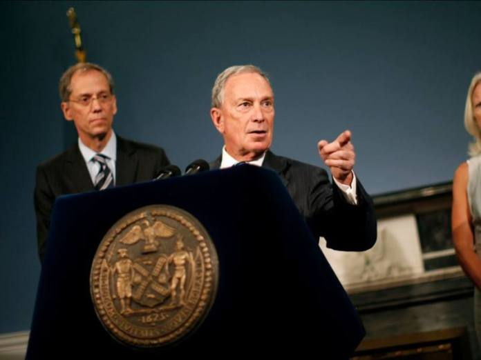 Mike Bloomberg Goldman Sachs London lecture