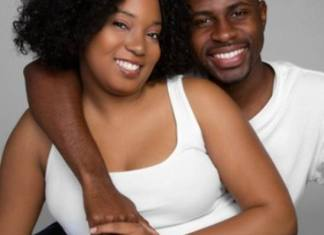 Black happy couple - get a man