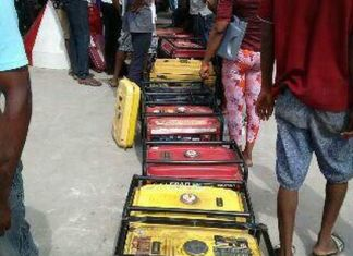 Generator queue in Nigeria