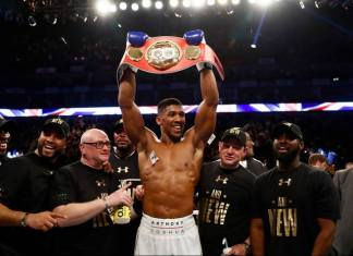 Anthony Joshua - IBF World Heavyweight Champion -2