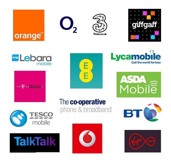 Mobile Phone Providers in the UK