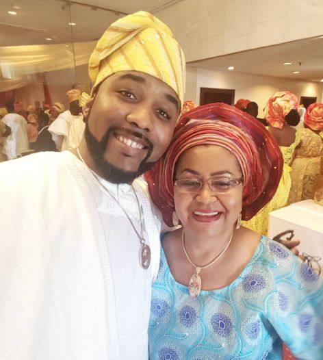 Banky W and mum