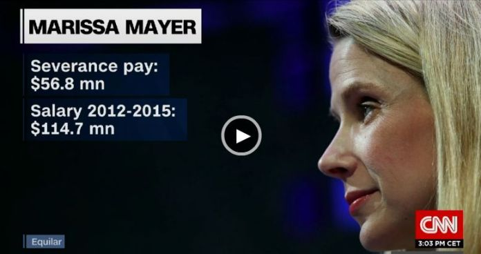 ©CNN|Marissa Mayer - Yahoo Verizon Takeover