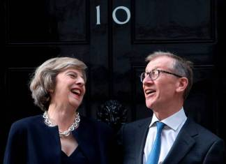 Theresa May - Prime Minister and Husband