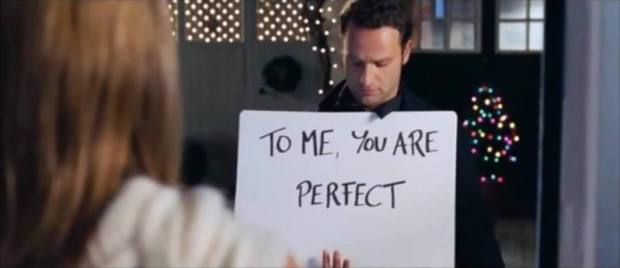 Love Actually|To me you are perfect