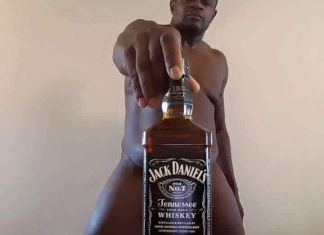 ©Facebook|Weird naked man with drinks - Feature