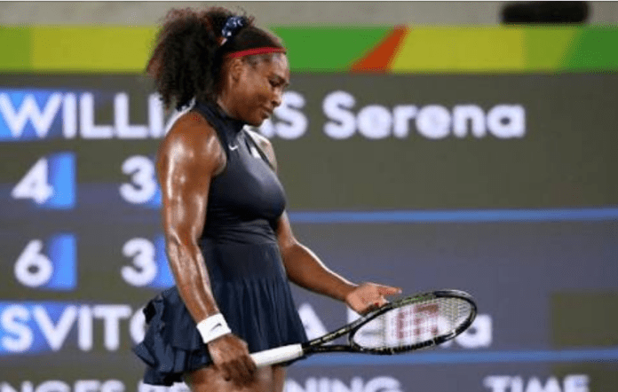 Serena Williams out of rio
