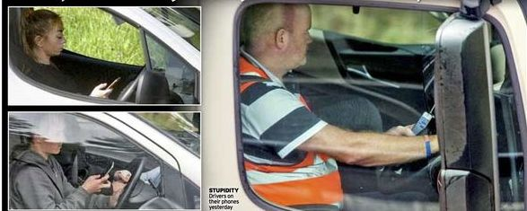 mirror-mobile-phone-points-on-licence