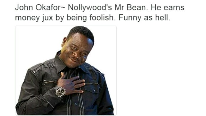 Nollywood Actors and their characteristics - John Okafor - Mr Ibu