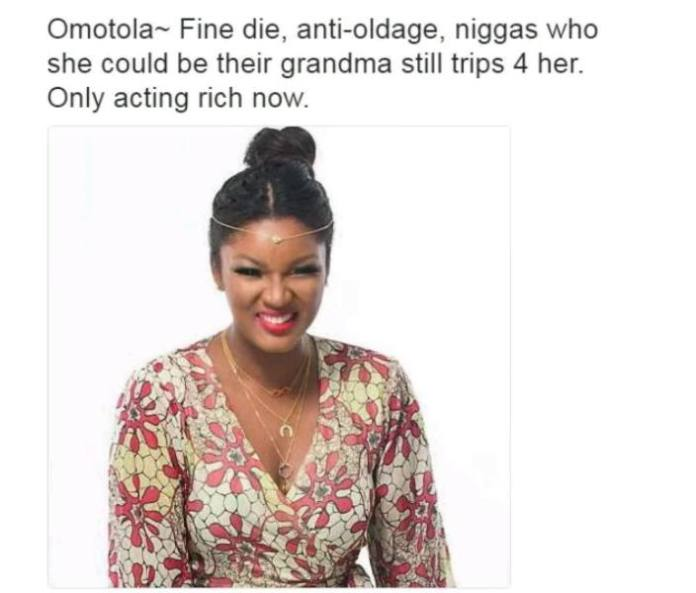 Nollywood Actors and their characteristics - Omotola Ekeinde