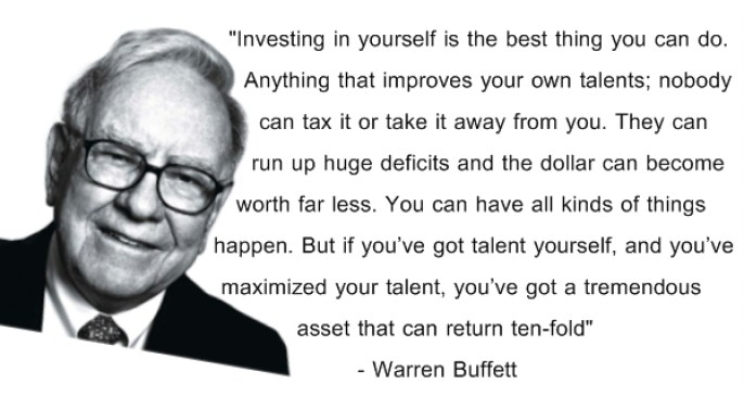 invest in yourself quote (Invest in Yourself for Business Success)