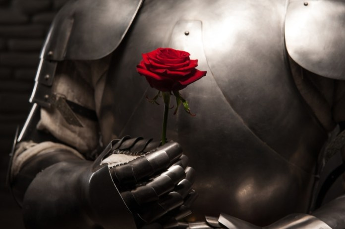 knight-in-shining-armour-and-rose