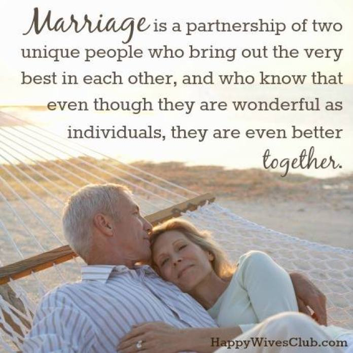 marriage is a partnership
