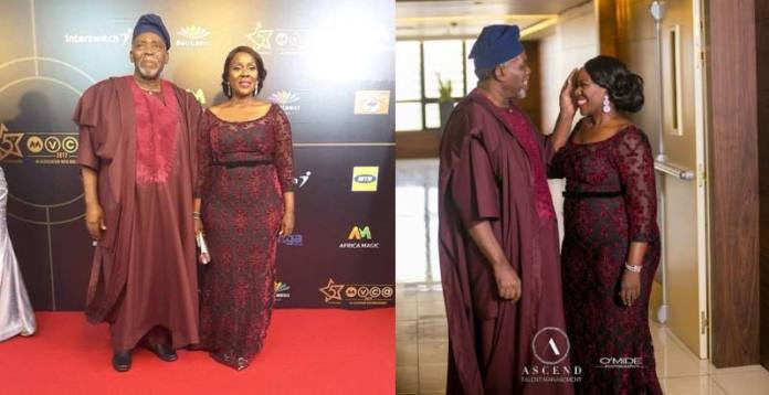 AMVCA 2017 - Joke Silva and Olu Jacobs