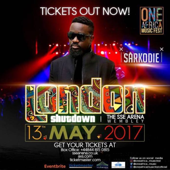 Sarkodie joins One Africa Music Fest