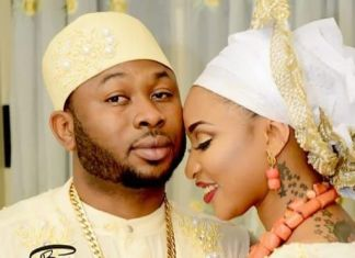 Olakunle Churchill and Tonto Dikeh