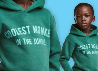 H&M Hoodie - Coolest Monkey in the Jungle