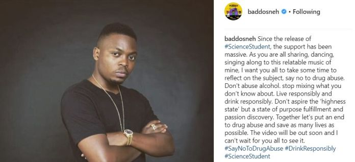 Olamide Science Student - IG Post