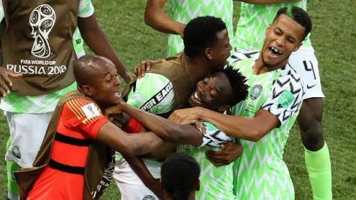 94c4a20c4 Nigeria Celebrate Victory Against Iceland In FIFA 2018 World Cup