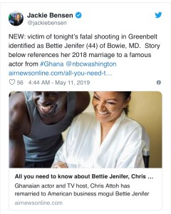 F08A47C0-48F4-4AA9-9963-F86A9694E417-240x300 Chris Attoh's wife shot dead in Maryland, USA
