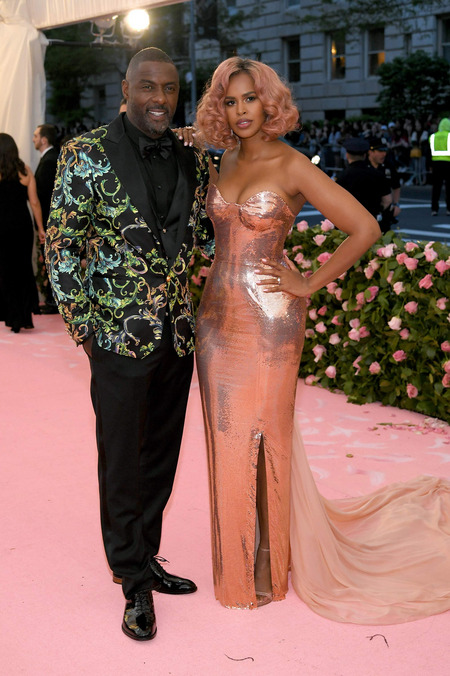 Idris Elba - Sabrina Dhowre - Met Gala 2019 - Getty Images