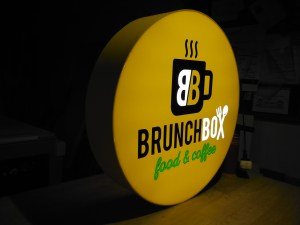 brunch box kaseton swietlny