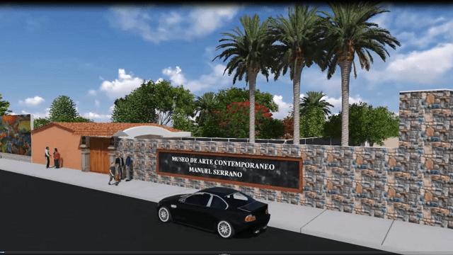 Se construye el Museo de Arte Contemporáneo Manuel Serrano Granda