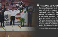 Alejandro Bravo Gana oro en el inicio de la Lucha Prejuvenil en la décima novena jornada de juegos nacionales