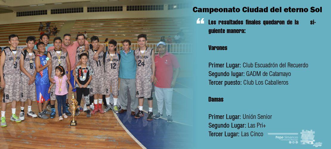 Final de campeonato Ciudad del Eterno Sol
