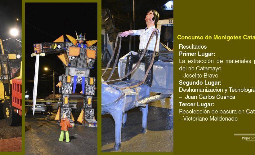 Concurso de Monigotes Catamayo 2016