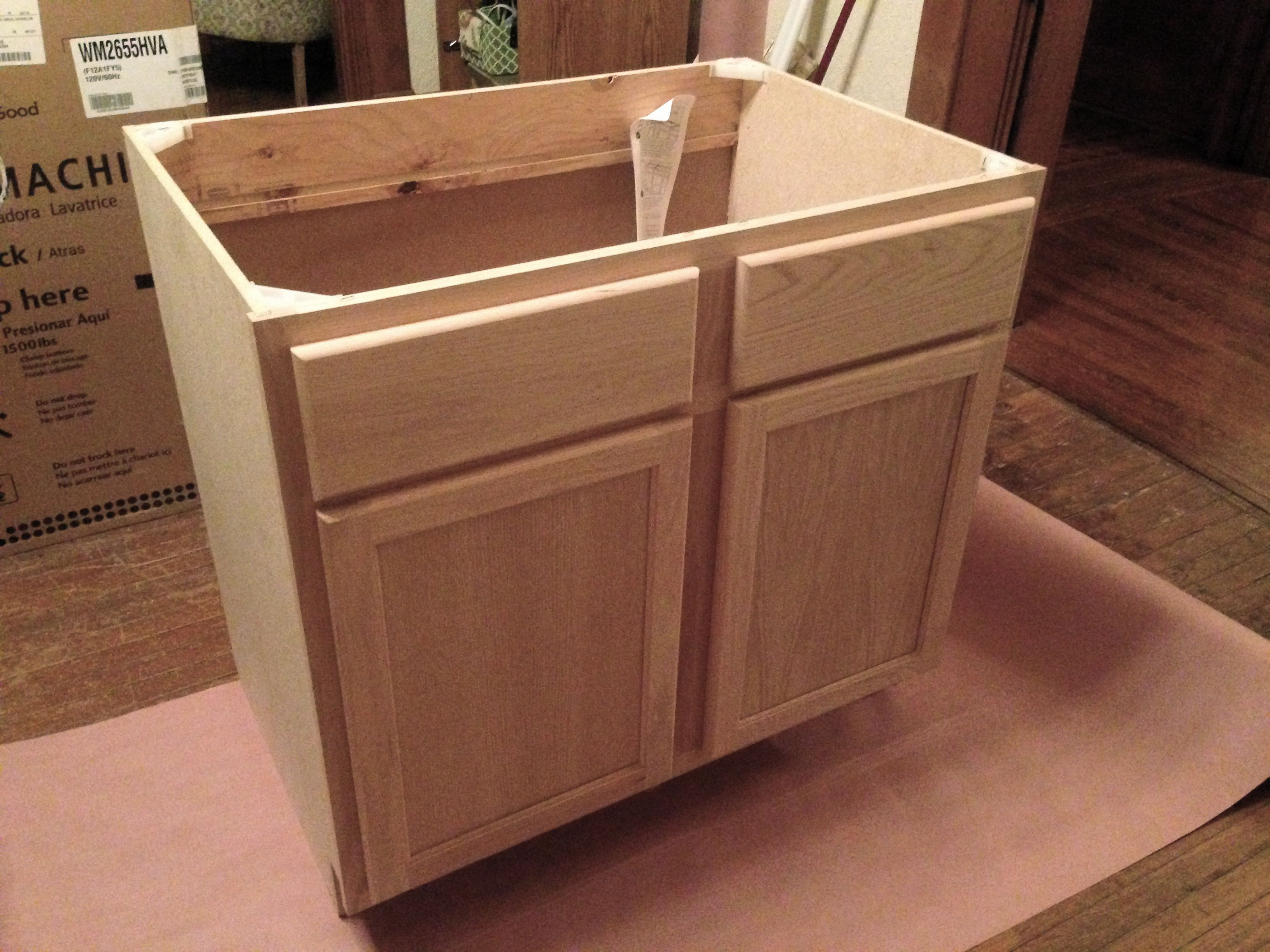 Laundry Table Woodworking Plans