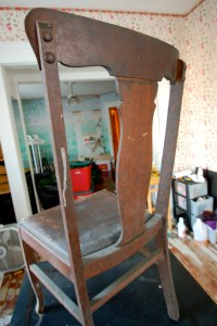 Reviving a Simple Chair  Vivacious Victorian