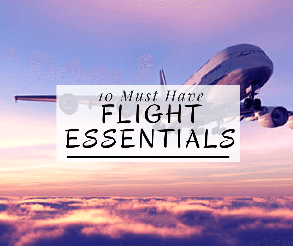 10-must-have-flight-essentials