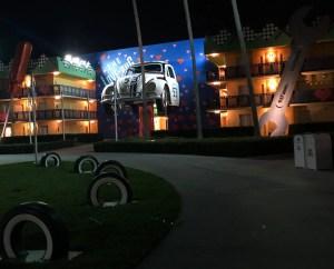 All-Star Movies Resort. Vivacious Views. Love Bug Area