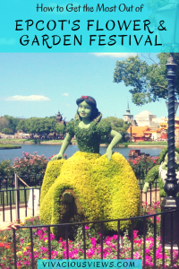 How to Get the Most Out of Epcot's Flower and Garden Festival