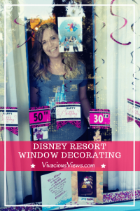Disney Resort Window Decorating. Vivacious Views. Pinterest