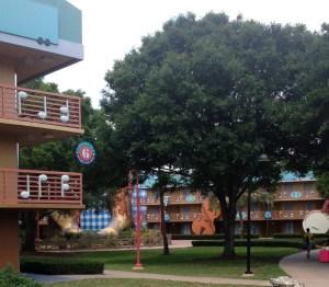All-Star Music Resort. Vivacious Views. Country Fair Section