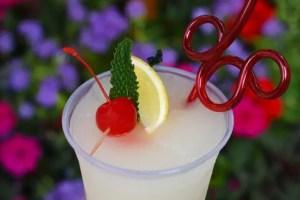 Spring at Disney World. Mint Julep Lemonade Slushy. Vivacious Views