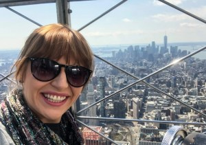 April Trip to New York City. Empire State Building. Vivacious Views