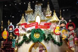 Times Square Disney Store. Holiday Decor. Vivacious Views