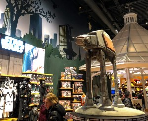 Times Square Disney Store. Star Wars. Vivacious Views