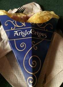 AristoCrêpes. Ham Crêpe. Disney Springs. Vivacious Views
