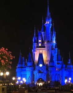 Memorial Day at Disney World. Magic Kingdom Cinderella Castle. Vivacious Views