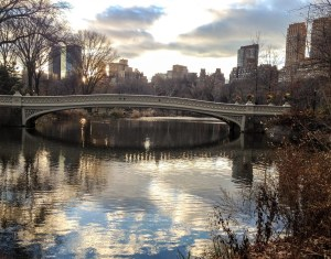 Central Park Faves. Bow Bridge Sunset. Vivacious Views