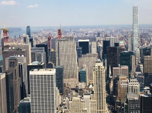 Empire State Building vs Top of the Rock. Central Park View. Vivacious Views