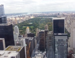 Empire State Building vs Top of the Rock. Central Park. Vivacious Views