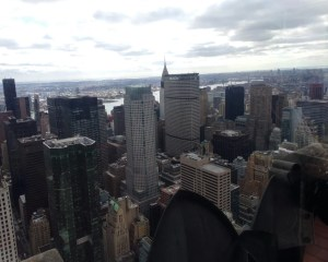 Empire State Building vs Top of the Rock. Chrysler Building. Vivacious Views